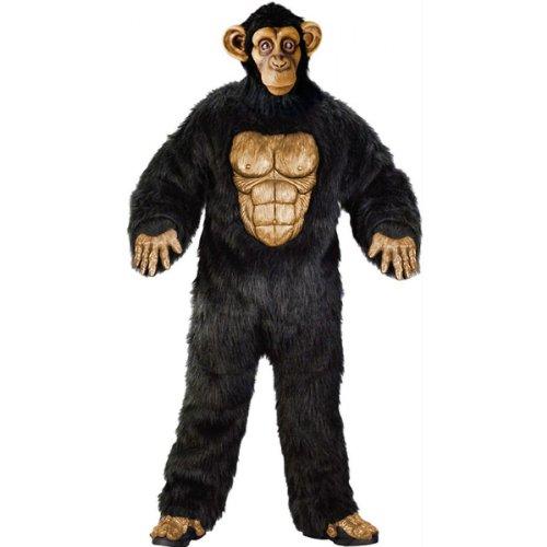 Complete Chimpanzee Costume - Standard - Chest Size 33-45 (Chimp Costume)
