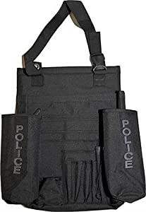 police car seat organizer black with grey monogram automotive. Black Bedroom Furniture Sets. Home Design Ideas