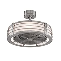 Animation continues to elevate their designs with the introduction of The Beckwith. This fan takes you back to the future without the Delrina. Its ultramodern finish adds a contemporary style to any room giving your space a retro vibe with a sleek, c...