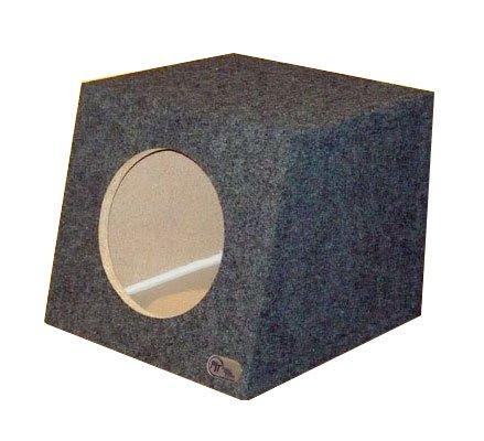 "R/T Sealed Single 10"" Hatchback Speaker Box - Large Air Volume (1.25)"