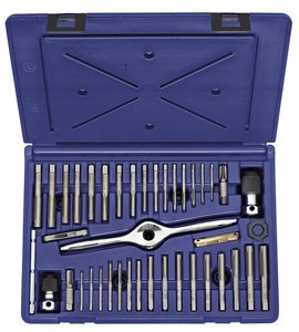 Irwin Tools 1840235 Performance Threading System Self-Aligning Tap Set-Machine Screw/Fractional/Metric, 41-Piece (Irwin Sae Tap And Die Set compare prices)