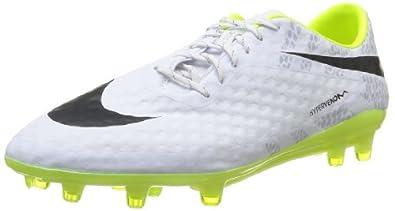 Nike HYPERVENOM PHANTOM REF FG Mens Soccer White Volt Black US sz. by Nike