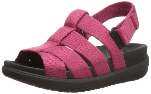 fitflop womens sling comber leather fisherman sandal