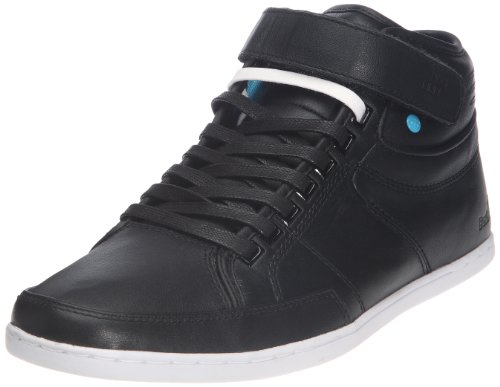 Boxfresh, Switch Leather, Stivaletti, Uomo, Nero (Black Cyan), 42