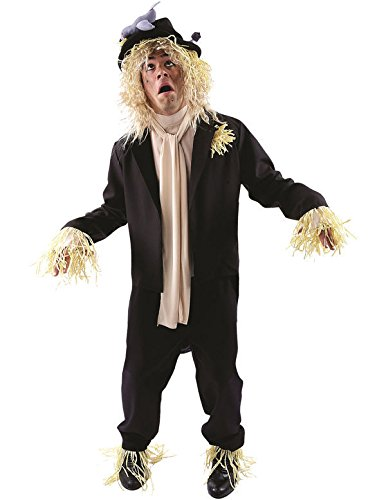 Mens Worzel Gummidge Costume. The funny TV series featuring Jon Pertwee as the talking scarecrow originally aired from 1979 to 1981, making this costume ideal for 70s and 80s parties.