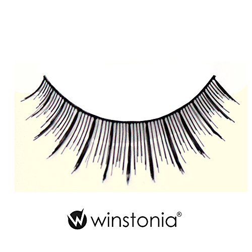 Winstonia 5 Pairs False Eyelashes Fake Lashes Fashion Makeup Cosmetic - Natural Thin 10