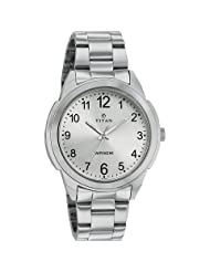 Titan Neo White Dial Analog Watch For Men-1585SM04