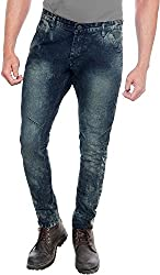 E Fashion Up Men's Skinny Fit Denim Jeans J2_Dark Blue_28