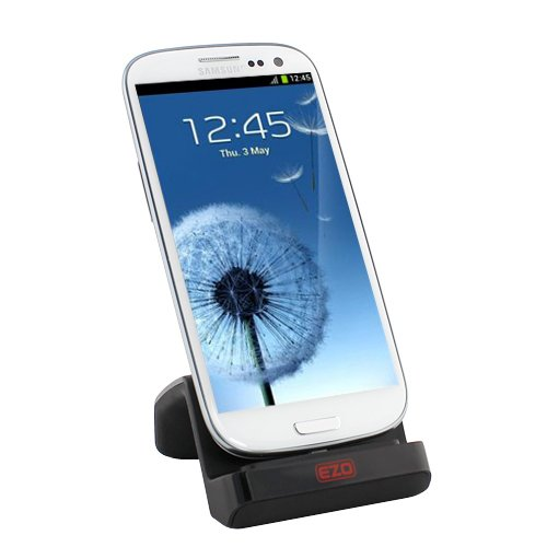 EZOPower Micro-USB Dock Cradle Desktop SmartPhone Charger for Samsung Galaxy S IV / S4 Smartphone