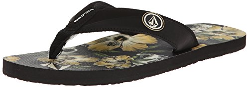 Volcom Vocation Sndl, Infradito uomo, Nero (Schwarz (Stoney Black / Sty)), 40