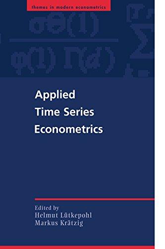 Applied Time Series Econometrics Paperback (Themes in Modern Econometrics)