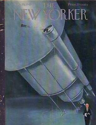 1949 New Yorker Nov 19 Telescope at the Observatory