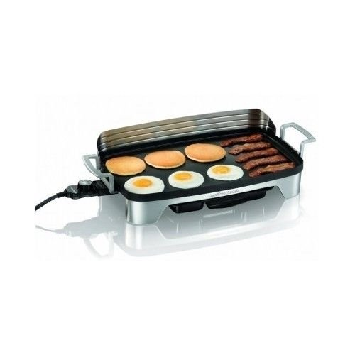 Brand New Electric Griddle Cookware Grill Indoor Kitchen Large Countertop Nonstick Cooking