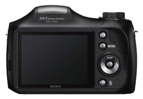 Sony DSC-H200 Digital Camera with 3-Inch LCD (Black): SONY