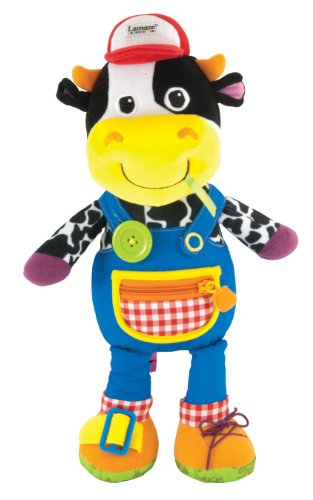Lamaze Learn to Dress Activity Doll, Farmer Fred