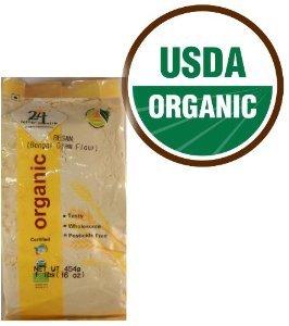 Organic Besan Bengal Garm Flour 2 Lbs