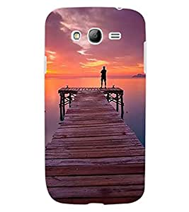 ColourCraft Beautiful Sunset Design Back Case Cover for SAMSUNG GALAXY GRAND NEO PLUS I9060I