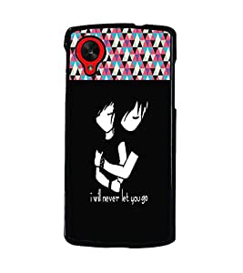 PrintDhaba Quote D-3189 Back Case Cover for LG GOOGLE NEXUS 5 (Multi-Coloured)