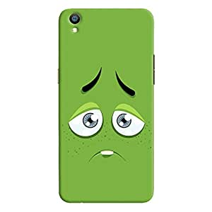 ColourCrust Oppo F1 Plus Mobile Phone Back Cover With Smiley Expressions Style - Durable Matte Finish Hard Plastic Slim Case