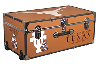 Mercury Seward Trunk University Of Texas 30-Inch Wheeled Foot Locker by Mercury