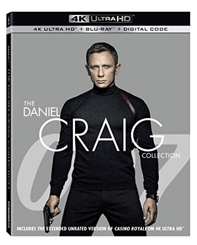 4K Blu-ray : Daniel Craig Collection