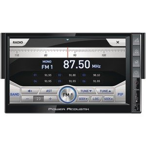 "Power Acoustik Pnx-721 In-Dash 7"" Ingenix Series Lcd Touchscreen Dvd Car Stereo Receiver W/ Bluetooth & Usb Ipod Control"