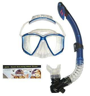 Body Glove Marianas Purge Mask Whistl Dry Snorkel Set Silver (Whistls compare prices)