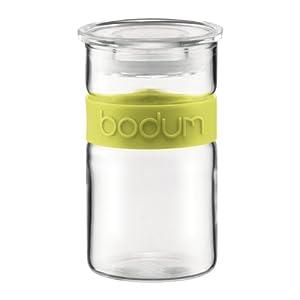 Bodum Presso 8-Ounce Glass Storage Jar, Green by Bodum
