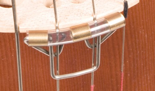 Slide-on Mute for Upright String Double Bass