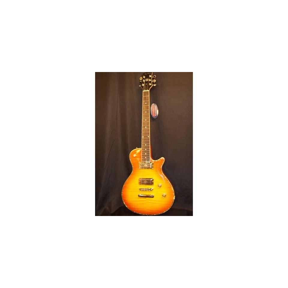 Turser Cutlass F Vintage Single Cutaway Guitar Musical Instruments