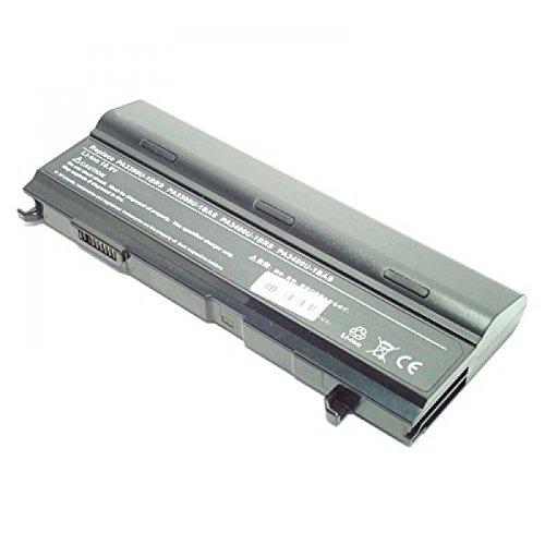 Batterie, Li-Ion, 10.8V, 8800mAh, noir, capcité double pour Toshiba Satellite A100-547
