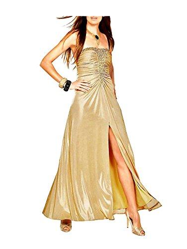 APART Damen-Kleid Abendkleid Gold Größe 19 (38)