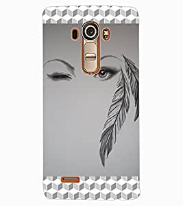 ColourCraft Creative Image Design Back Case Cover for LG G4