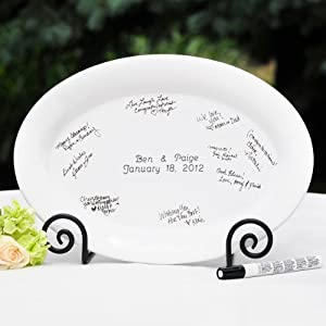 Personalized Guest Book Platter Only