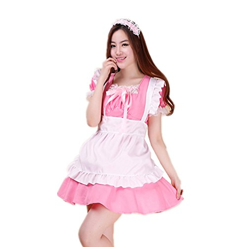 Treasure-box French Maid Cosplay Costumes Four Colour