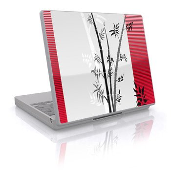 Zen Design Skin Decal Sticker Cover for Laptop Notebook Computer - 15