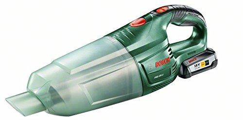 Bosch PAS 18 LI Aspirateur sans Fil avec 1 Batterie 18V 2,5 Ah, Technologie Syneon