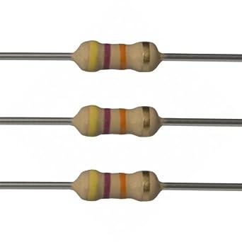 E Projects 47k Ohm Resistors 1 2 Watt 5 47k 100 Pieces Amazon Com Industrial