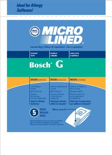Bosch Vacuum Bags Style G Microlined