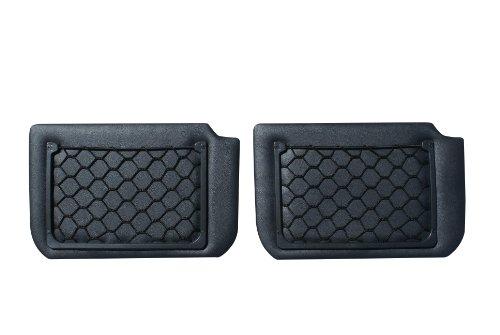 【日本製】 【ハイエース ワゴンGL】 【簡単取り付け】 200系 XYZ TRH214W 219W セカンドシートサイドパネル ブラックレザー 2枚 ネット収納 1型 2型 3型 4型 対応 2枚入り SSSP-2