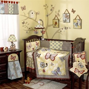 CoCaLo Baby 4 piece Nursery Crib bedding Set