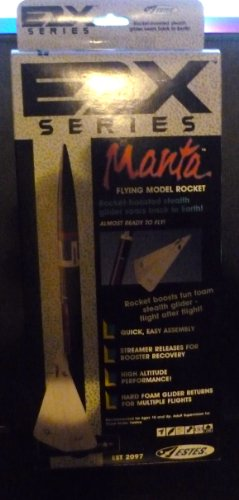 #2097 Estes E2X Series Manta Model Rocket Kit,Needs Assembly