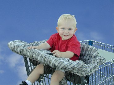Shopping Cart Cover Blue - Buy Shopping Cart Cover Blue - Purchase Shopping Cart Cover Blue (Little Peanut Products, Toys & Games,Categories,Pretend Play & Dress-up,Sets,Cooking & Housekeeping,Grocery Shopping)