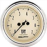 Auto Meter 1897 Antique Beige Electric Tachometer