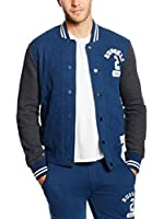 Russell Athletic Chaqueta (Azul Medio)