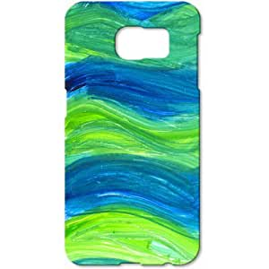 Crackndeal PTA158 Back cover for Samsung Galaxy S6, (Multi-coloured)