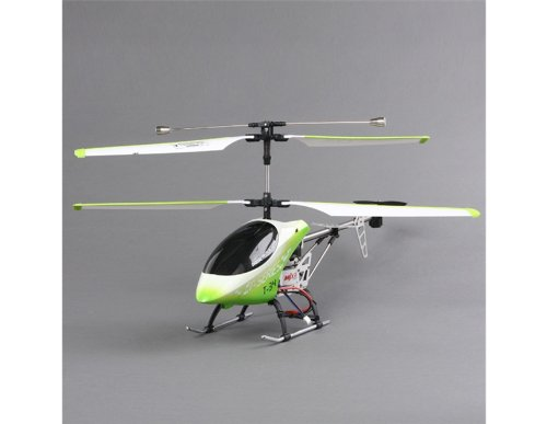 T34 3.5-channel LCD Display Controller R/C Coaxial Helicopter with GYRO and LED Lights