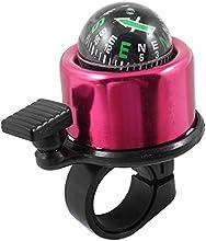 Bike Bicycle Cycling Compass Design Bell Alarm Black Fuchsia