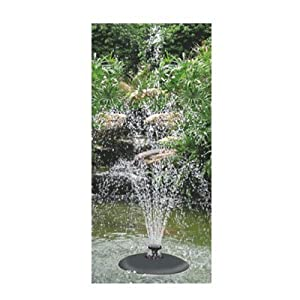 Pisces quasar floating fountain water feature for Garden pond amazon