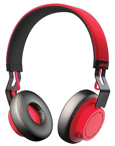 【日本正規代理店品】 Jabra Bluetooth4.0 オーバーヘッド型ワイヤレスステレオヘッドセット MOVE Wirelessシリーズ レッド MOVEWIRELESS-RD